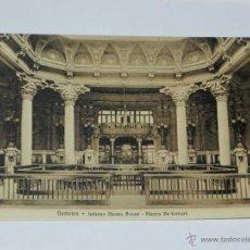 Postales: VECCHIA CARTOLINA POSTALE - ITALIA - GENOVA - INTERNO NUOVA BORSA - PLAZZA DE FERRARI - BRUNNER &. Lote 38270694