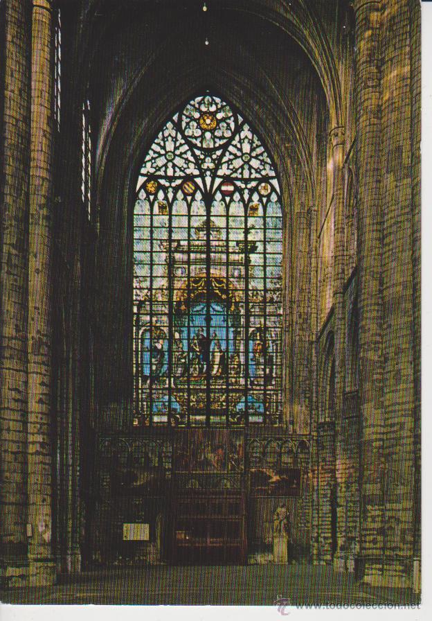 BRUXELLES. CATHEDRALE ST. MICHEL (Postales - Postales Extranjero - Europa)
