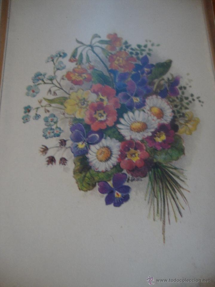 Postales: LOTE 12 POSTALES FLORES ANTIGUAS ENMARCADAS - Foto 7 - 40408970