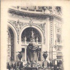 Postales: PS0552 PARÍS 'EXPOSITION DE 1900 - FONTAINE DE CHOISY-LE-ROI'. SIN CIRCULAR. Lote 40476733