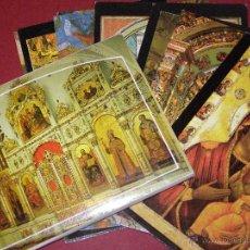Postales: JUEGO 11 POSTALES KREMLIN MOSCÚ - CATEDRALES E IGLESIAS -. Lote 40478014