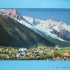 Postales: POSTAL CHAMONIX MONT BLANC - . Lote 40746067