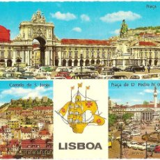 Postales: LISBOA (PORTUGAL), VARIAS VISTAS - Nº 755/12 - SIN CIRCULAR. Lote 40774094