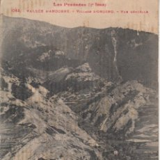 Postales: ANDORRA LF TOULOUSE 1043 VALLEE D'ANDORRE - VILLAGE D'ORDINO - LES PYRENEES(3ª SERIE. Lote 40881093