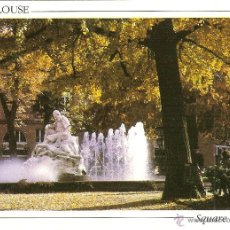 Postales: TOULOUSE (FRANCIA), LA VILLE ROSE, PLACE WILSON, JARDIN GOUDOULI - ED. LOUBATIÈRES - SIN CIRCULAR. Lote 40889835
