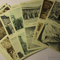 Postales: LOTE 10 POSTALES ABBAZIA DI MONTECASSINO ITALIA. Lote 40934874