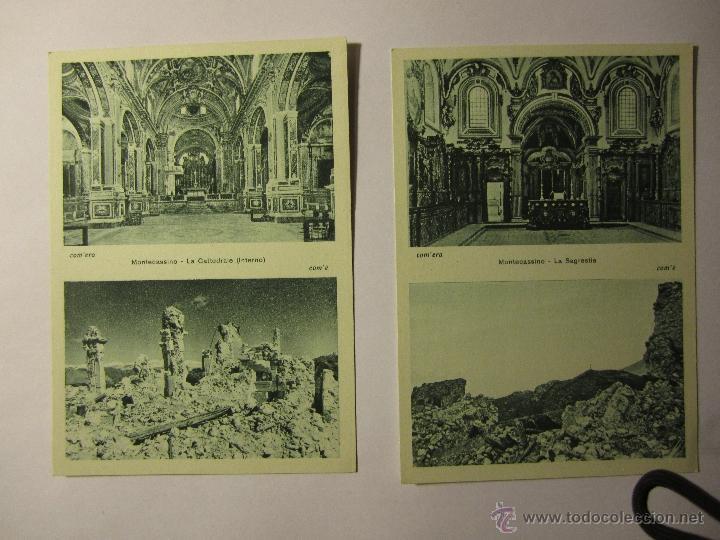 Postales: lote 10 postales abbazia di montecassino italia - Foto 6 - 40934874