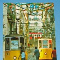 Postales: ANTIGUA POSTAL DE PORTUGAL. LISBOA, TRANVÍAS TRANVÍA AMARILLO. 664. Lote 40945383
