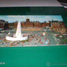 Postales: POSTAL AÑOS 70 DE LA PLAZA DAM DE AMSTERDAM (HOLANDA). Lote 40976989