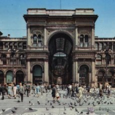 Postales: POSTAL MILANO GALLERIA VITTORIO EMANUELE II : * MILÁN - ITALIA *. Lote 41009441