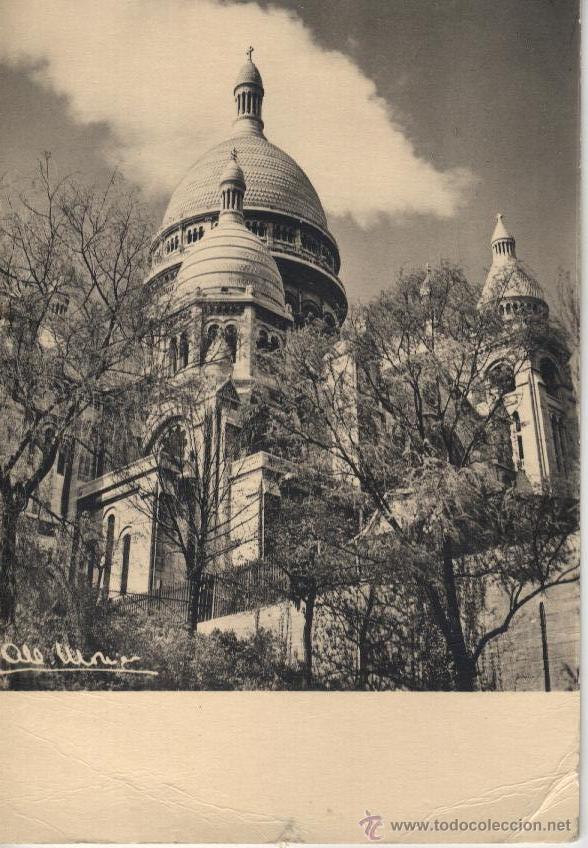 POSTAL PARÍS SACRE COEUR (Postales - Postales Extranjero - Europa)