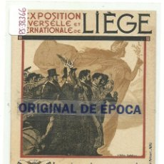 Postales: (PS-38366)POSTAL EXPOSITION LIEGE 1905. Lote 41023224
