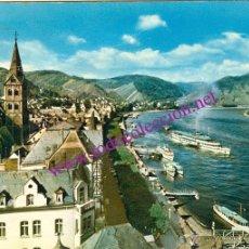 Postales: BOPPARD AM RHEIN - RHEINPROMENADE (ALEMANIA) - POSTAL DE 1968. Lote 9483892