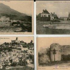 Postales: LOTE DE 24 POSTALES ANTIGUAS DE CASTILLOS DE FRANCIA. Lote 41144301