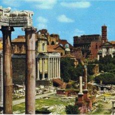 Postales: POSTAL ROMA - FORO ROMANO - ITALIA - CIRCULADA. Lote 41334477