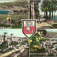 Postales: SAN REMO (ITALIA), DIVERSOS ASPECTOS- ROTALFOTO Nº 6143 - CIRCULADA. Lote 41409092