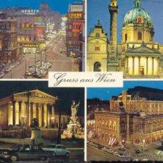 Postales: GRUSS AUS WIEN. POSTAL SI CIRCULADA.. Lote 41567226