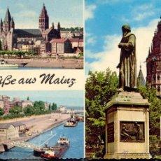 Postales: MAINZ. GRÜBE AUS MAINZ. (1969) POSTAL SI CIRCULADA.. Lote 41585215