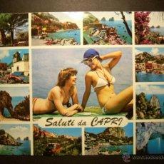 Postales: 7035 ITALIA ITALY CAPRI POSTCARD POSTAL AÑOS 60/70 - TENGO MAS POSTALES. Lote 41598140