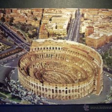 Postales: 7256 ITALIA ITALY LAZIO LACIO ROMA ROME IL COLOSSEO POSTCARD POSTAL AÑOS 60/70 - TENGO MAS POSTALES. Lote 41624157