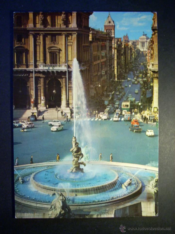 7263 ITALIA ITALY LAZIO LACIO ROMA ROME POSTCARD POSTAL AÑOS 60 - TENGO MAS POSTALES (Postales - Postales Extranjero - Europa)