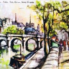Postales: POSTAL PARÍS - NOTRE DAME - FRANCIA. Lote 41684837