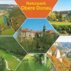 Postais: PARQUE NATURAL OBERE DONAU (ALEMANIA) - WERNER Nº 200/135 - SIN CIRCULAR. Lote 41685965
