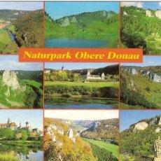 Postais: PARQUE NATURAL OBERE DONAU (ALEMANIA) - WERNER Nº 200/136 - SIN CIRCULAR. Lote 41685997