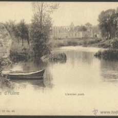 Postales: ABBAYE D'AULNE -EL PUENTE ANTIGUO - REVERSO SIN DIVIDIR - NELS SERIE 10 Nº 44 - (19693). Lote 41806317