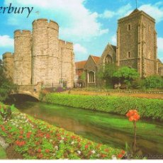Postales: POSTAL: RIVER STOUR AND WEST GATE, CANTERBURY. Lote 41860959