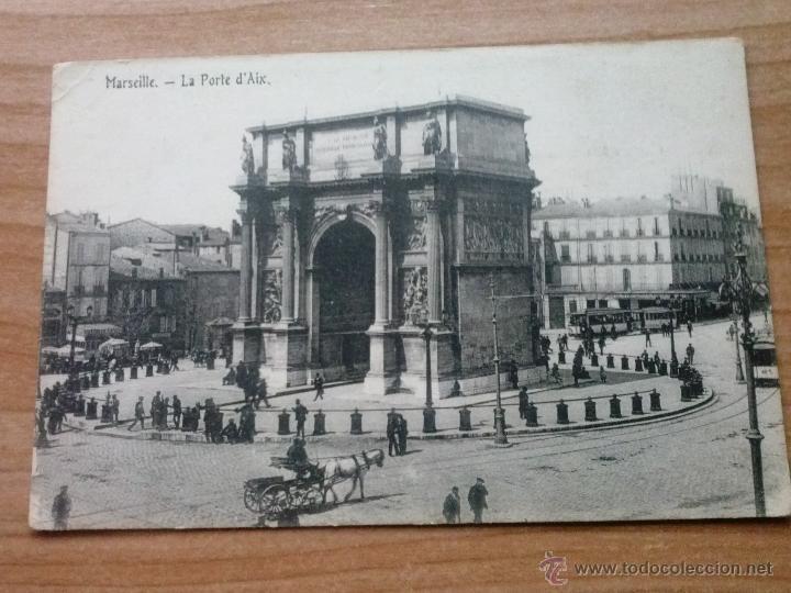 POSTAL ANTIGUA MARSEILLE -FRANCIA EN BLANCO Y NEGRO (Postales - Postales Extranjero - Europa)