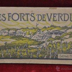 Postales: ALBUM DE POSTALES LES FORTS DE VERDUM. DIFERENTES VISTAS. 20 TARJETAS. Lote 42193401