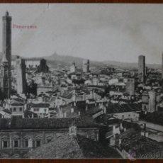 Postales: ANTIGUA TARJETA POSTAL PANORAMA DE BOLOGNA - BOLONIA - ITALIA - CON SELLO. Lote 42220397