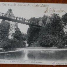 Postales: ANTIGUA TARJETA POSTAL PARIS SIGLO XIX FECHADA 1915 - DIRIGIDA A BARCELONA - CON SELLO. Lote 42234775