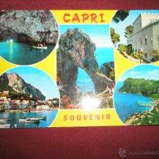Postales: =POSTAL-ITALIA-CAPRI-CIRCULADA-BUEN ESTADO.. Lote 42272145