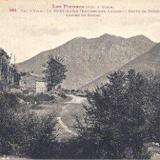 Postales: PS4112 VALLE DE ARÁN - LE PORTILLON (ENVIRONS DE LUCHON) 'ROUTE DE BOSOST'. LABOUCHE FR. S/C. Lote 42401811