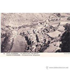 Postales: VALLS DE ANDORRA DANT JULIA DE LORIA VISTA GENERAL. Lote 42440091