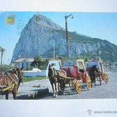 Postales: POSTAL-GIBRALTAR-PEÑÓN-CIRCULADA-. Lote 42511260