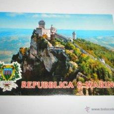 Postales: POSTA-REPÚBLICA SAN MARINO-NUEVA-CON SELLOS SIN FRANQUEAR NI ESCRIBIR-.. Lote 42571356