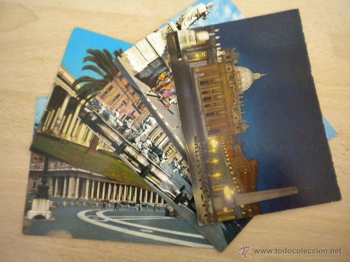 LOTE DE 5 POSTALES DE ROMA - POSTAL ROMA - SIN CIRCULAR (Postales - Postales Extranjero - Europa)