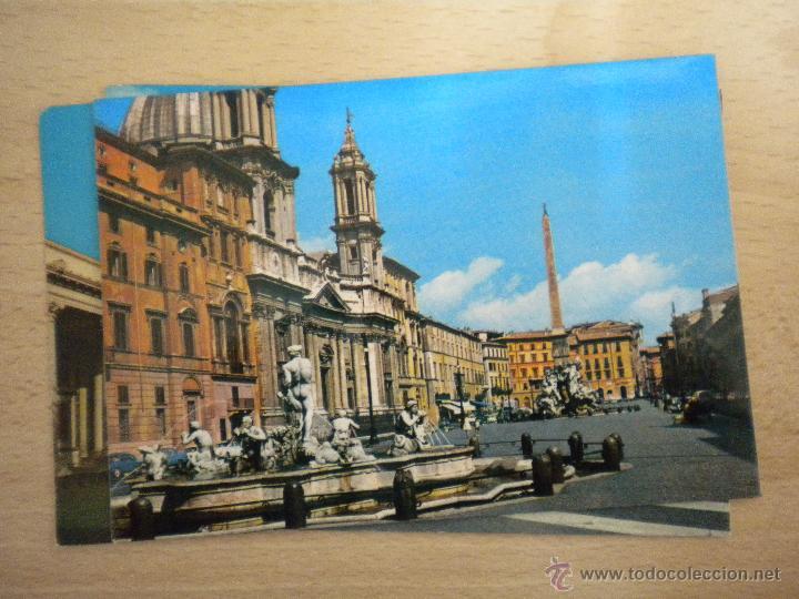 Postales: lote de 5 postales de roma - postal roma - sin circular - Foto 3 - 42689843