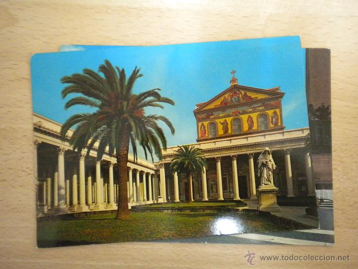 Postales: lote de 5 postales de roma - postal roma - sin circular - Foto 4 - 42689843