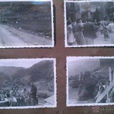 Postales: 1947-1946. ALBUM CON UNAS 60 FOTOS DE ANDORRA. Lote 42694178