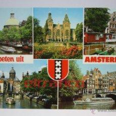 Postales: POSTALES HOLANDA - AMSTERDAM - POSTAL (HI). Lote 42870916