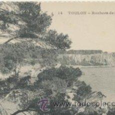 Postales: TOULON.- ROCHERS DE STE-MARGUERITE. . Lote 42890211