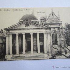 Postales: 1720 GENÈVE CATHÈDRALE DE ST PIERRE LE PERISTYLE. Lote 42950539