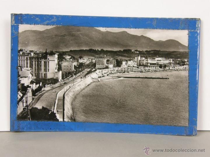 POSTAL CIRCULADA SELLO MATASELLO ST JEAN DE LUZ 1953 PARÍS (Postales - Postales Extranjero - Europa)
