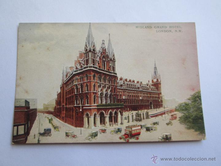 MIDLAND GRAND HOTEL LONDON N.W. 1914 (Postales - Postales Extranjero - Europa)