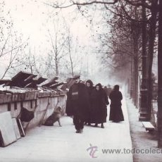 Postales: PARIS 1900 (4) SUR LES QUAIS. PHOTO DESOYE.. Lote 42984537