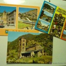 Postales: LOTE POSTALES ANDORRA.-. Lote 43013230